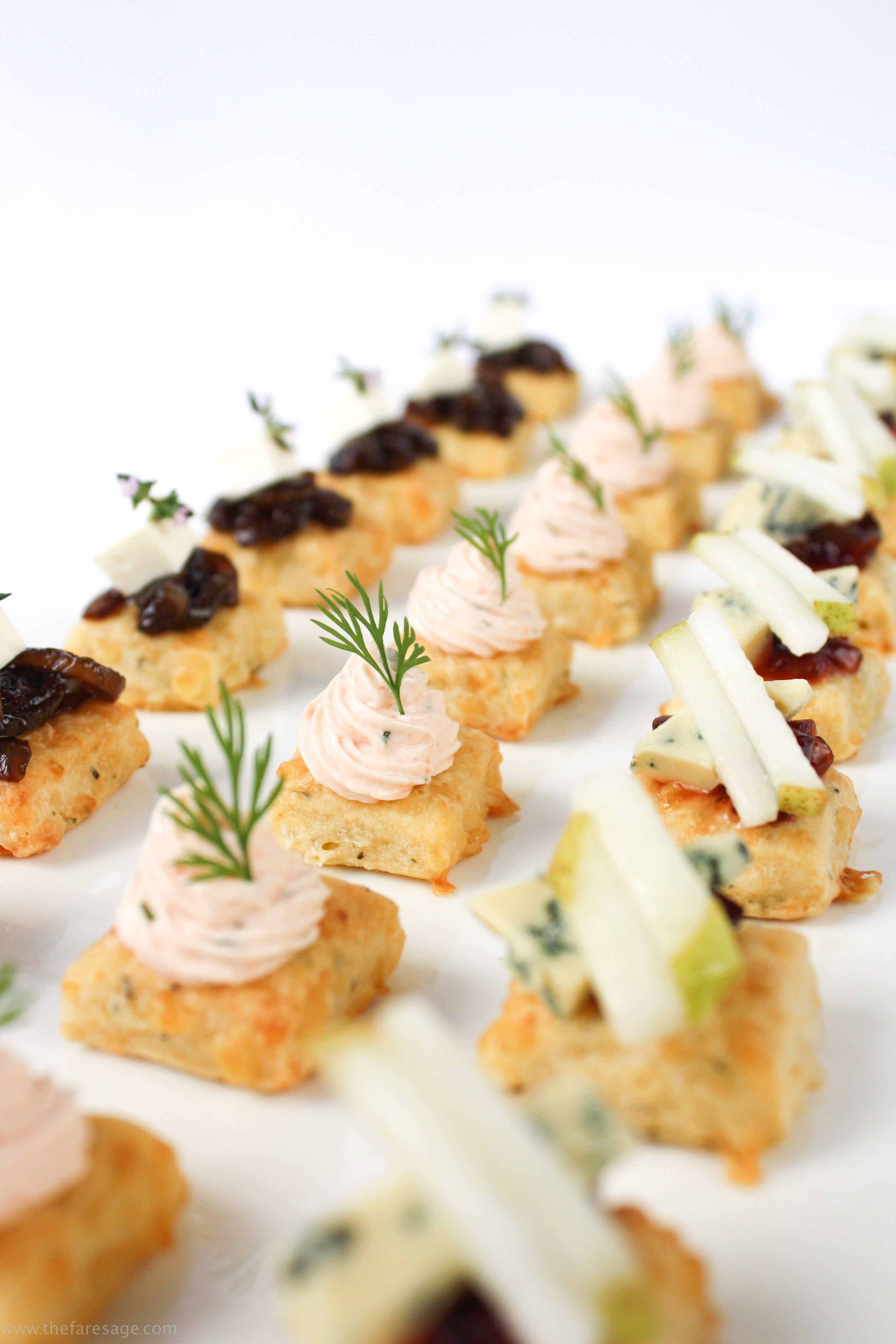 Smoked salmon mousse the fare sage for Smoked salmon mousse canape